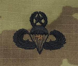 Combat Jump Wing 1AWD OCP Sew-on Badge - Insignia Depot
