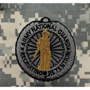 National Guard Recruiting Retention ACU Senior Sew-On Badge - Insignia Depot
