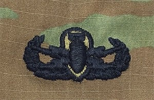Explosive Ordinance Disposal Basic OCP Sew-on Badge - Insignia Depot