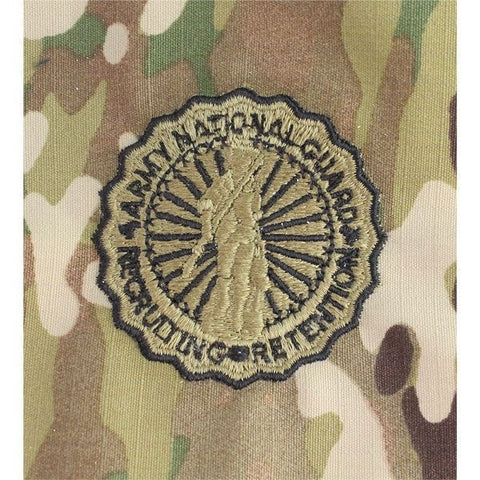 National Guard Recruiting Retention OCP Basic Sew-On Badge - Insignia Depot