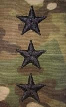 O9 Lieutenant General OCP Sew-on for Caps (pair) - Insignia Depot