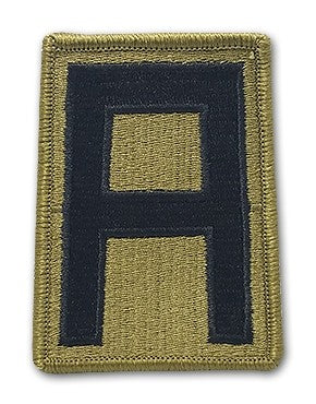 1st Army OCP Patch with Hook Fastener (pair) - Insignia Depot