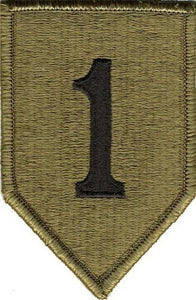 1st Infantry Division OCP Patch with Hook Fastener (pair) - Insignia Depot