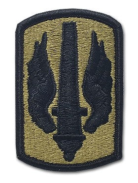 18th Field Artillery (Fire Brigade) OCP Patch with Hook Fastener (pair) - Insignia Depot