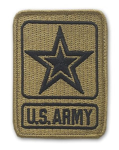 U.S. Army Star Logo OCP Patch with Hook Fastener (pair) - Insignia Depot