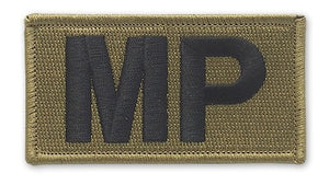 Military Police OCP Brassard Patch with Hook Fastener (pair) - Insignia Depot