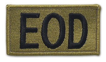 Explosive Ordinance Disposal OCP Patch with Hook Fastener (pair) - Insignia Depot