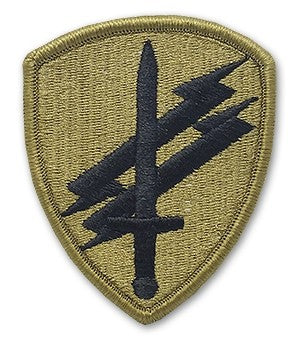 Civil Affairs and Psych Ops OCP Patch with Hook Fastener (pair) - Insignia Depot