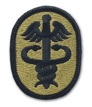 Medical Command Health Service OCP Patch with Hook Fastener (pair) - Insignia Depot