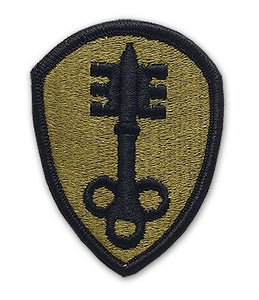 300th Military Police Command OCP Patch with Hook Fastener (pair) - Insignia Depot