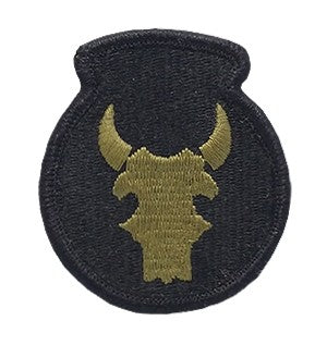 34th Infantry Division OCP Patch with Hook Fastener (pair) - Insignia Depot