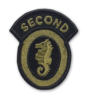2nd Engineer Brigade OCP Patch with Hook Fastener (pair) - Insignia Depot