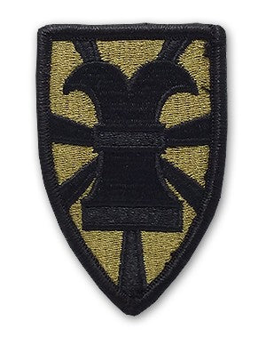 7th Transportation Brigade OCP Patch with Hook Fastener (pair) - Insignia Depot