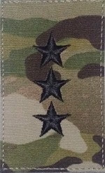 O9 Lieutenant General OCP with Hook Fastener - Insignia Depot
