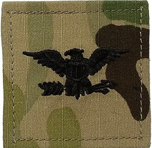 USAF O6 Colonel OCP 2X2 with Hook Fastener - Insignia Depot