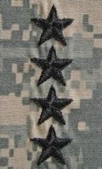 O10 General ACU Sew-on 2x2 - Insignia Depot