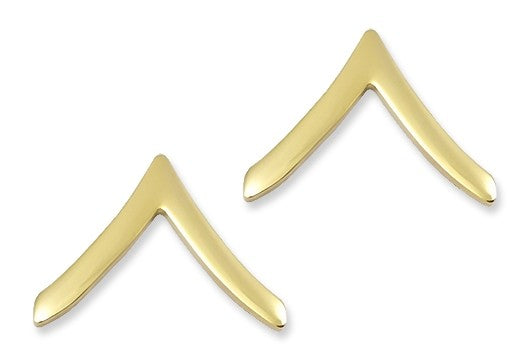 E2 Private Brite Pin-on Rank - Insignia Depot