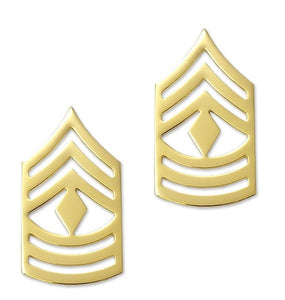 E8 First Sergeant Brite Pin-on Rank - Insignia Depot