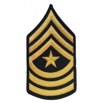 Sergeant Major – SGM