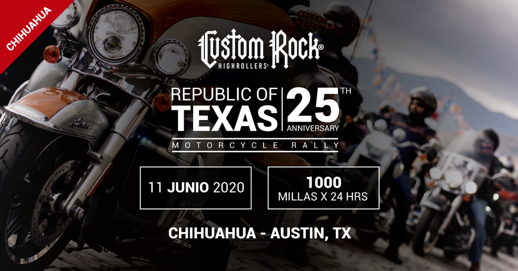 Custom Rock Rally, Chihuahua - Austin TX 1000 Millas por 24 Hrs.