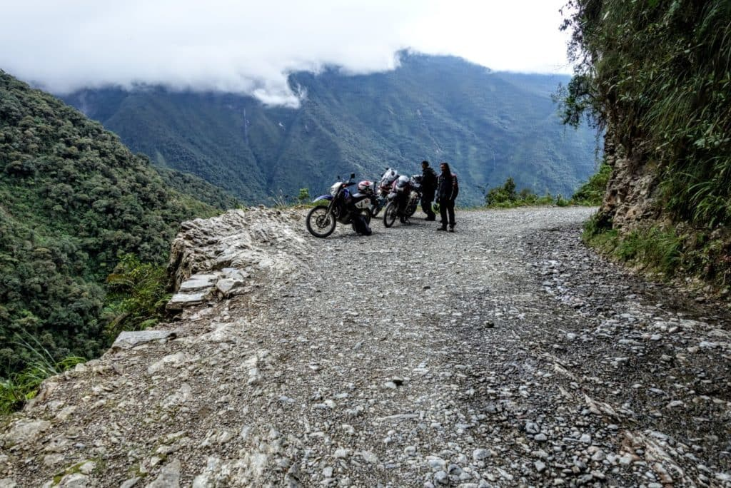 Yungas Road – The Death Road Bolivia by Motorbike