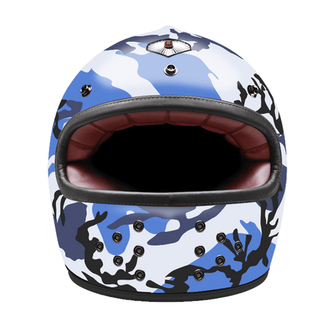 Casco Ruby Full Face Camouflage Blue