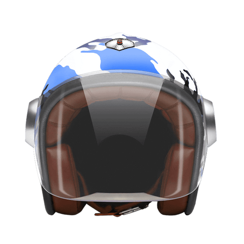 Casco Ruby Jet Camouflage Blue
