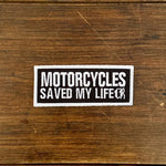 Parche Motorcycles Saved My Life