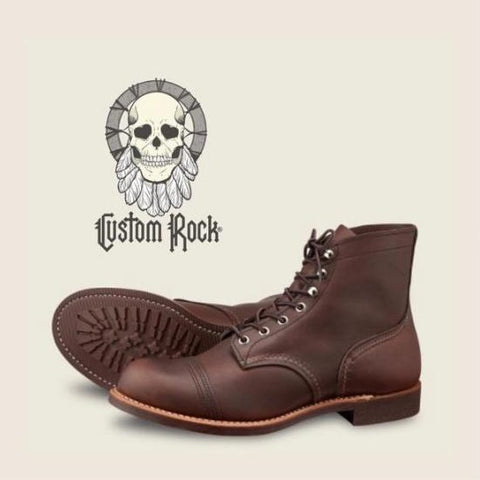 Botas Red Wing Iron Ranger 8111 Café