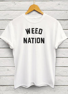 Weed Nation T Shirt