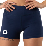 Balandi Branded Custom Women's Bike Inspired Tech Fit Shorts