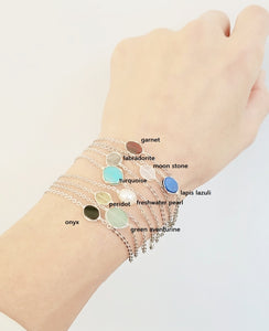 Color Gem stone bracelet