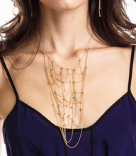 Load image into Gallery viewer, Spider web necklace
