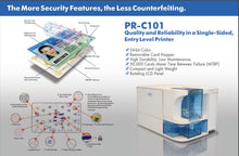 Load image into Gallery viewer, Nisca PR-C101 Single-Side ID Card Printer