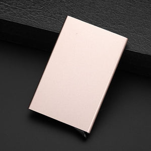 ID Card Case - Slim Metal