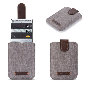 ID Holder - Canvas RFID Blocking
