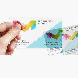 Transparent PVC Plastic Cards