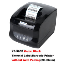 Load image into Gallery viewer, Xprinter Barcode Printer Thermal Label Printer