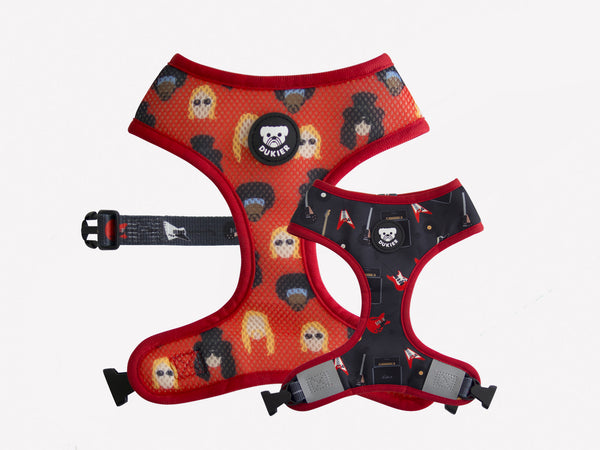 ROCK REVERSIBLE DOG HARNESS