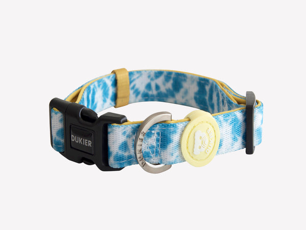 TIE-DYE DOG COLLAR