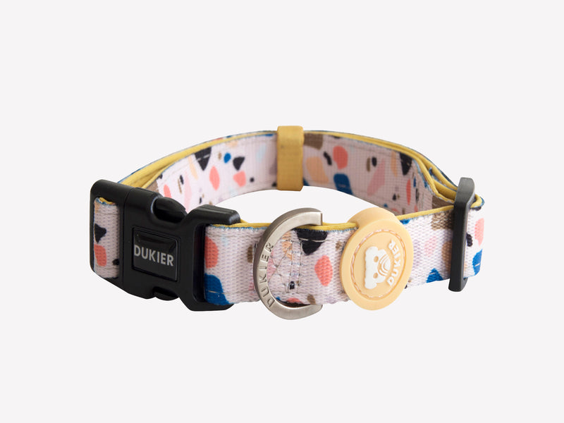 TERRAZO DOG COLLAR