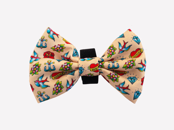 TATTOO BOW TIE FOR DOGS