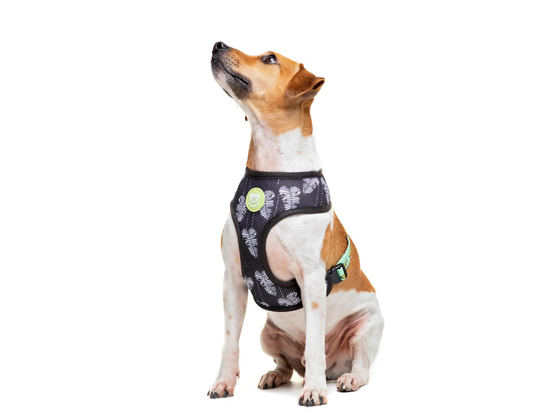 BANANA REVERSIBLE DOG HARNESS - Dukier International Store