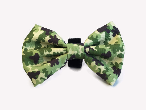 CAMO BOW TIE FOR DOG - Dukier Store