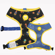 REVERSIBLE SPACE DOG HARNESS - Dukier Store