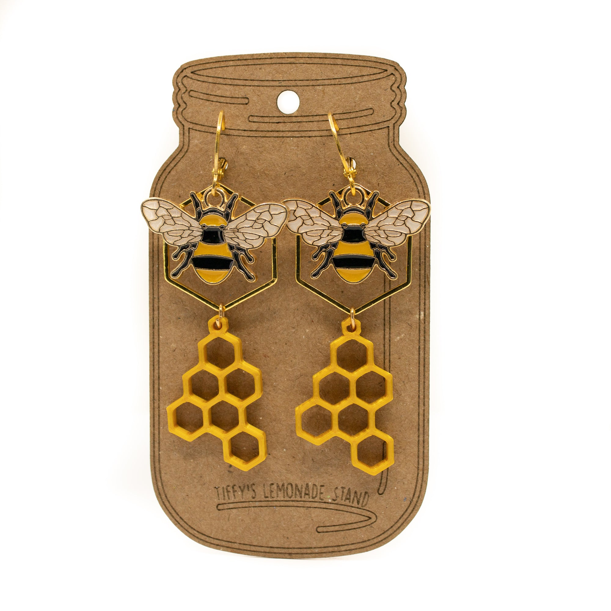 Oh Bee Hive Earrings
