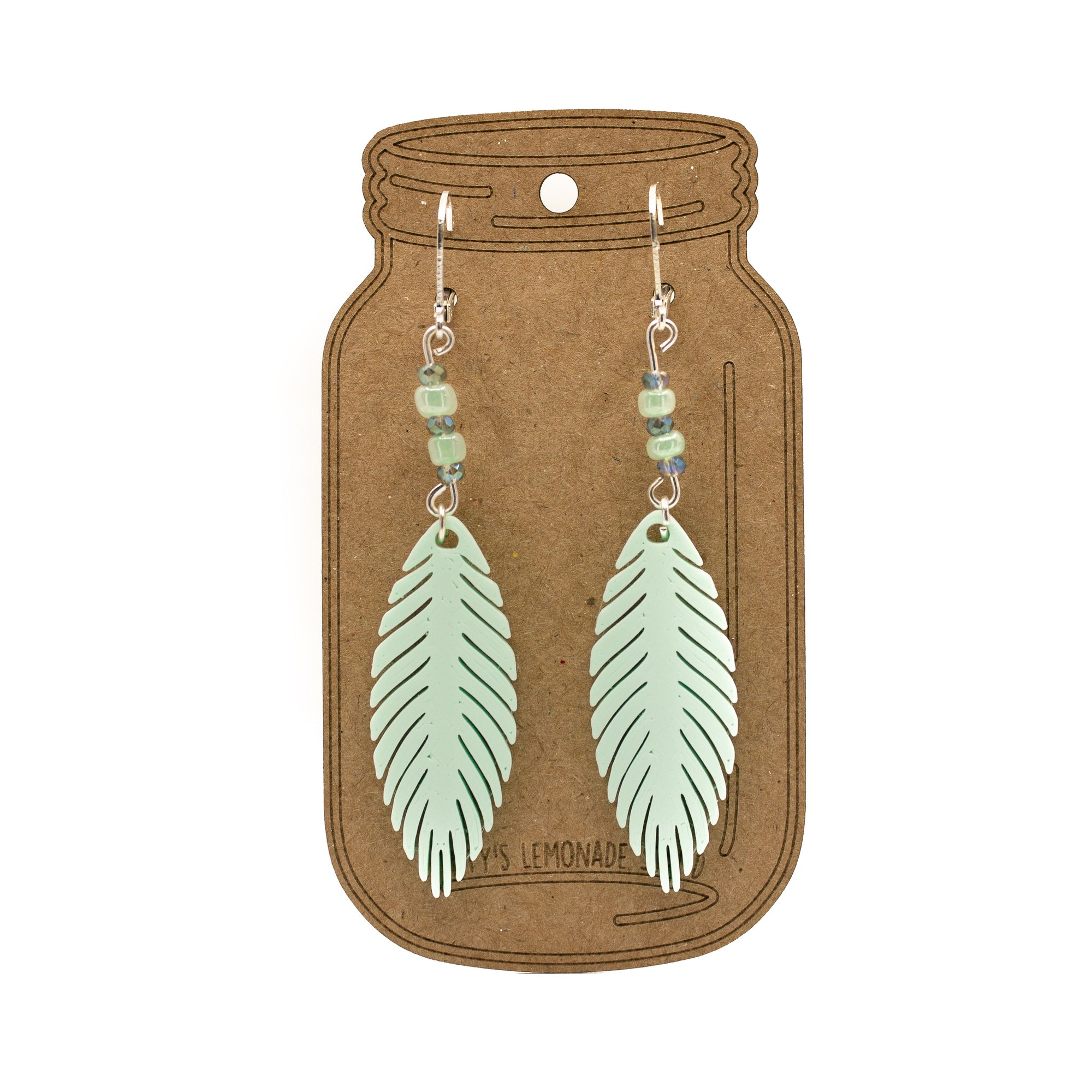 TiffysLemonadeStand - On The Wind - Opaque - Clasp Earrings - Earrings - clasp, opaque - $12