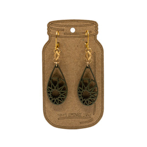 Arabian Nights - Silk Earrings