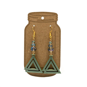 The Journey - Silk Earrings