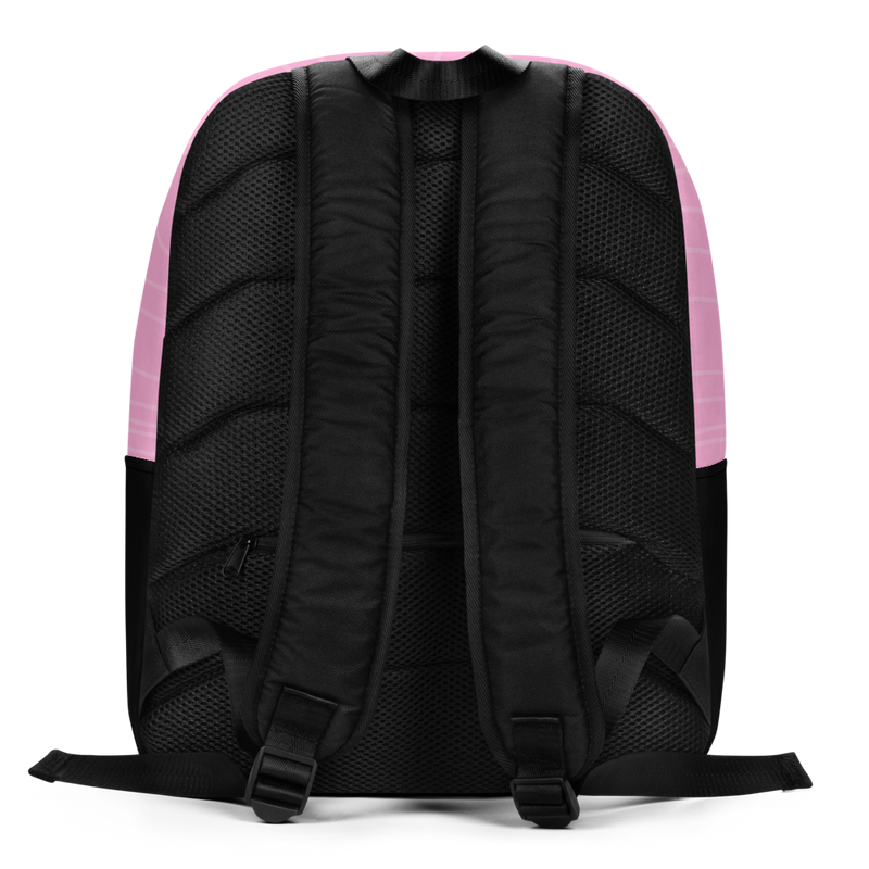 Pink Woodgrain Backpack